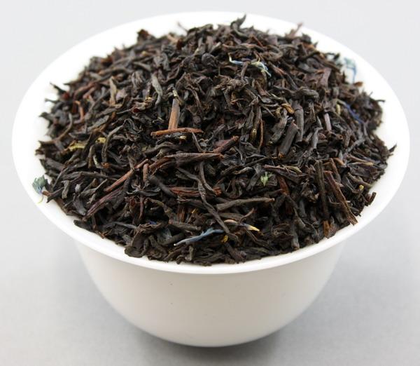 Blue Earl Grey Tea