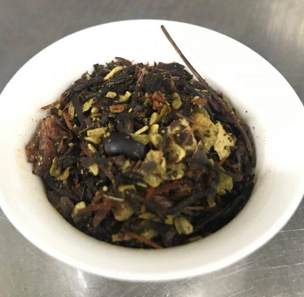 Coconut Macaron Tea